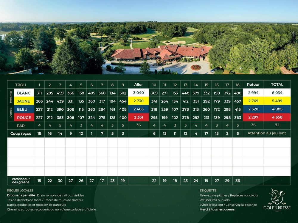 18-hole course